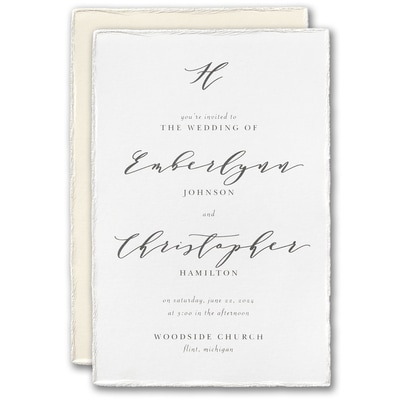 Simply Lovely Invitation