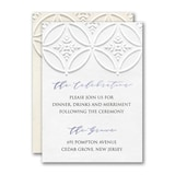 Patterned Splendor Reception Card