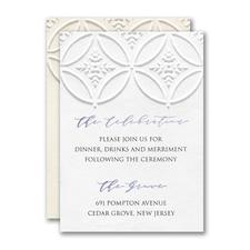Patterned Splendor Reception Card