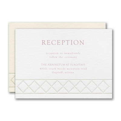 Dotted Link Reception Card