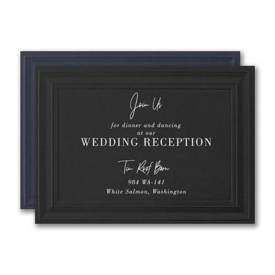 Distinguished Impression Reception Card
