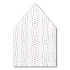 Decoratively Modern Envelope Liner
