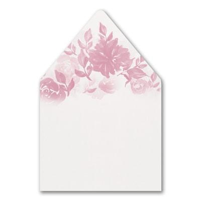 Botanical Elegance Envelope Liner