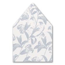 Floral Elegance Envelope Liner