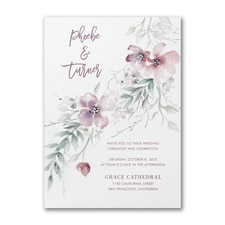 Boho Sophistication Invitation