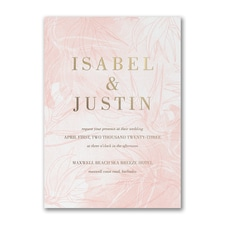 Best Selling Wedding Invitation: Welcoming Day Invitation