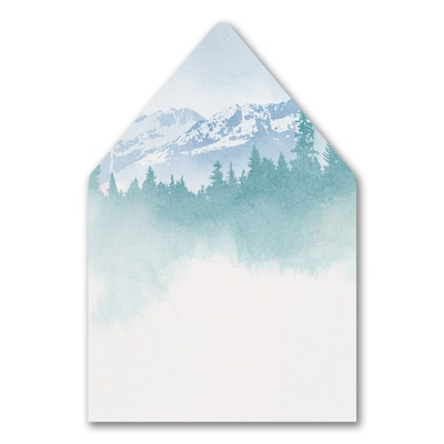 Mountain Beauty Envelope Liner