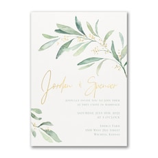 Fresh Daydream Invitation - Wedding Invitation
