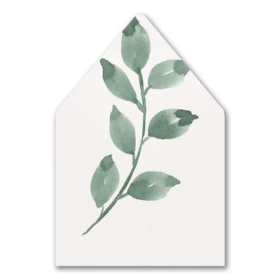 Botanical Grandeur Envelope Liner