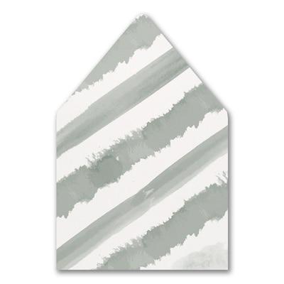 Watercolor Diamond Envelope Liner