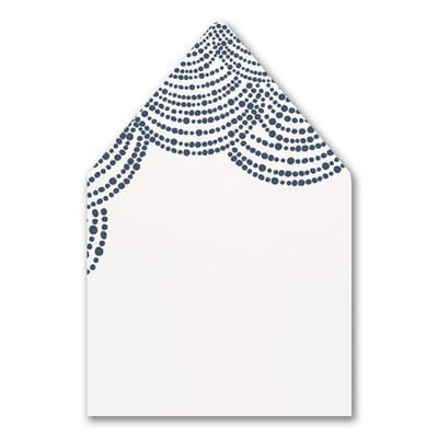 Dotted Garland Envelope Liner