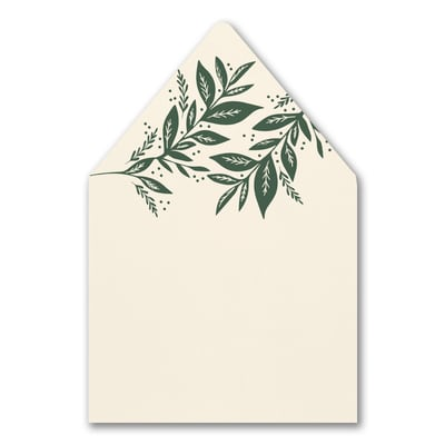 Canopy of Leaves Envelope Liner