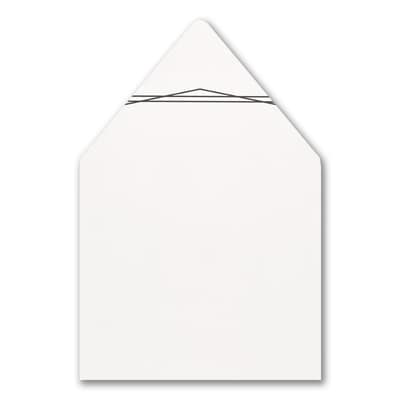 Geo Lined Frame Envelope Liner
