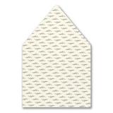 Greenery Monogram Envelope Liner