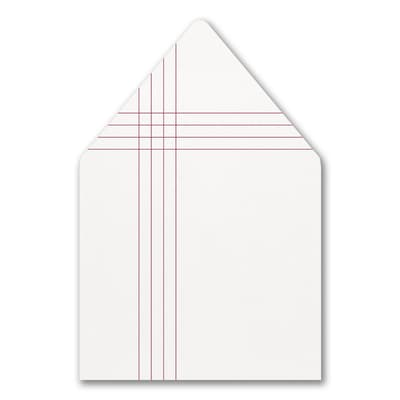 Contemporary Layout Envelope Liner