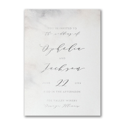 Earthy Watercolor Invitation