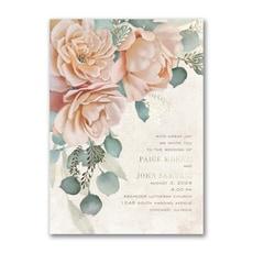 greenery wedding invitation: Refreshing Floral Invitation