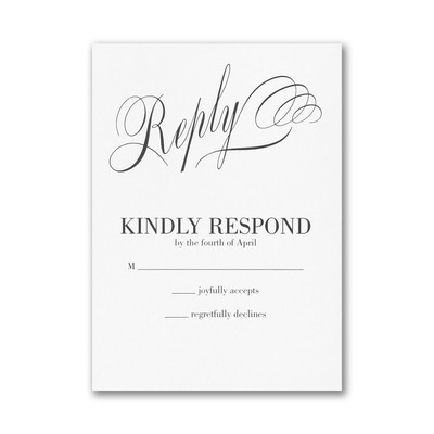 Joined Today Response Card with Envelope