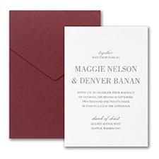 Effortless Love Invitation with Pocket
