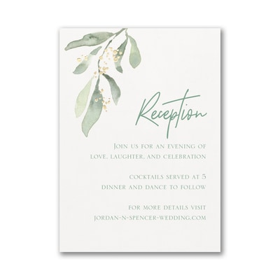 Fresh Daydream Reception Card