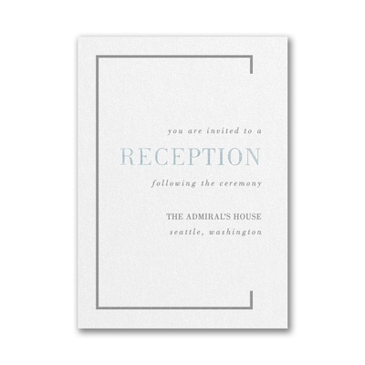Borderline Reception Card