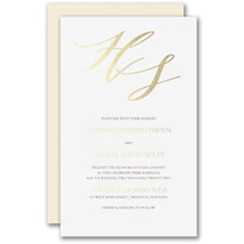 Rich Elegance Invitation