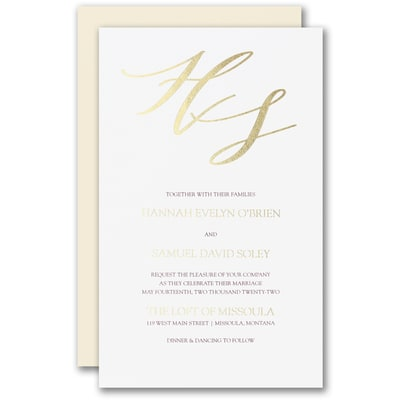 Rich Elegance Invitation