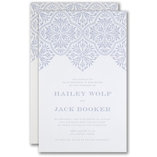 Luxury wedding invitations: Flourish Inspiration Invitation