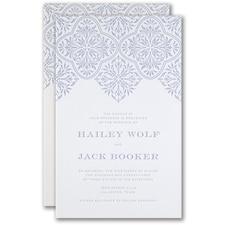 Luxury wedding invitations: Flourish Inspiration Invitation