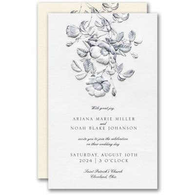 Delightful Floral Invitation