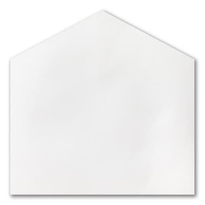 (A9) White Shimmer Envelope Liner