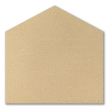 (A9) Gold Glitter Envelope Liner