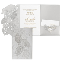 Delightful Leaves Invitation