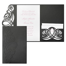 Luxury wedding invitations: Elegant Sophistication Invitation