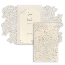 Luxurious Blooms Invitation -