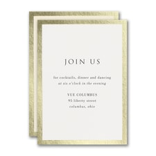Decorative Treasure Reception Card