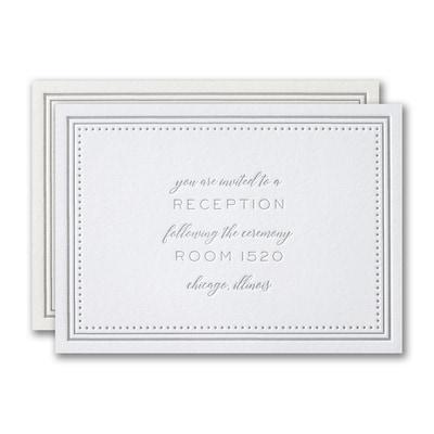 Never-ending Love Reception Card