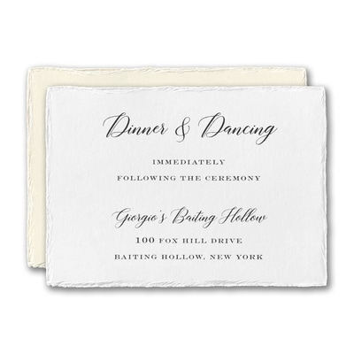 Bedazzled Love Reception Card