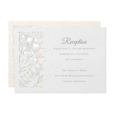 Captivating Edge Reception Card