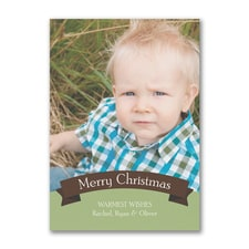 Merry Christmas Photo Banner