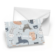 Cats Note Card Set