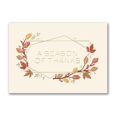 Geometric Thanksgiving