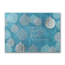 Geometric Ornaments Card