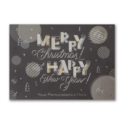 Modern Holiday Card