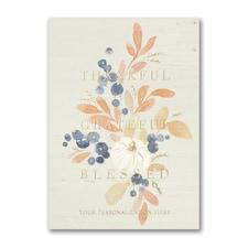 Rustic Blessings Card