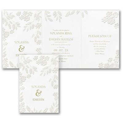 Floral Framework Invitation