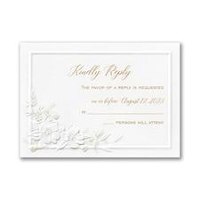 Perennial Love Response Card and Envelope