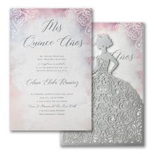 Colored Roses Invitation