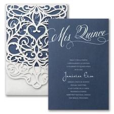 Quince Flourish Invitation