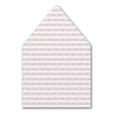 Dashed Border Envelope Liner